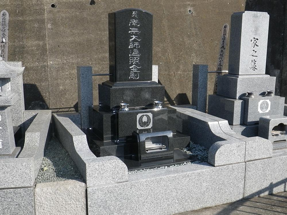 位牌型 お墓